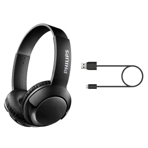 Philips BASS+ SHB3075BK accessories