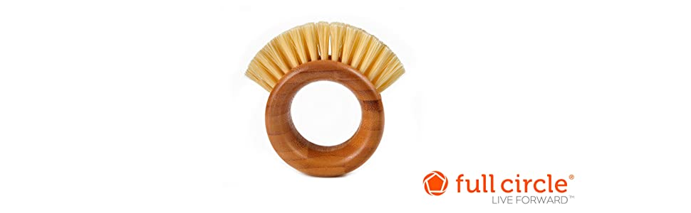ring, brush, veggie brush, vegetable brush, vegetable cleaner