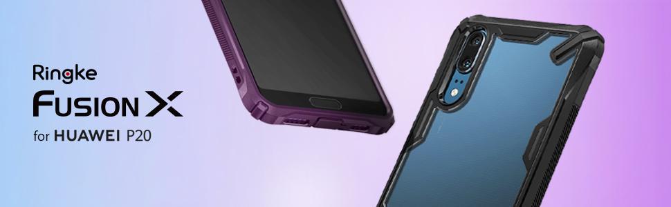 husa Ringke Fusion X pentru Huawei P20