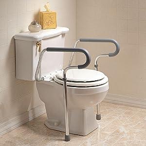 Amazon.com: Sammons Preston Toilet Safety Frame, Toilet ...