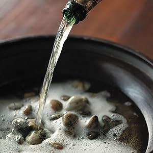 スパークリングワイン鍋