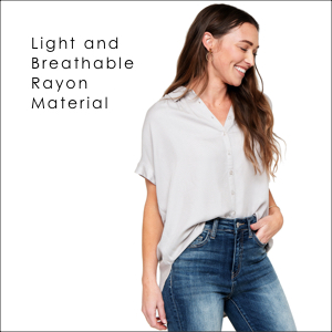 light and breathable rayon material