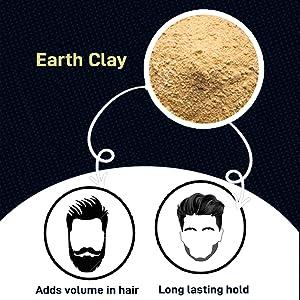 Adds hair volume hair wax