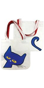 tote bag;canvas tote;pete tote;pete the cat;pete accessories;back to school;teacher gift;james dean