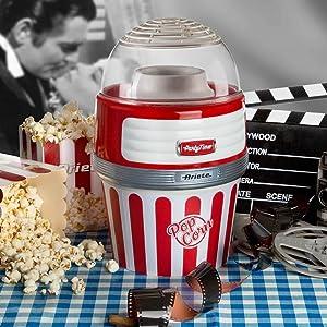 macchina per popcorn ariete party time 2957