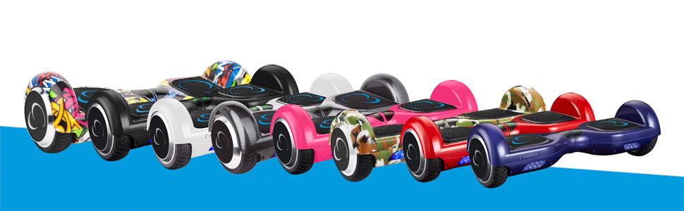 SmartGyro X2 UL - Patinete eléctrico, ruedas de 6.5