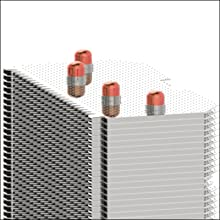 Offset heat pipes enable optimal heat dissipation