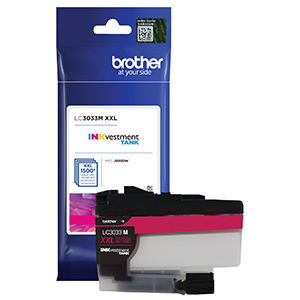 brother lc3033m, ink, magenta, printer, cartridge, high yield, inkvestment, brother, mfc‐j995dw
