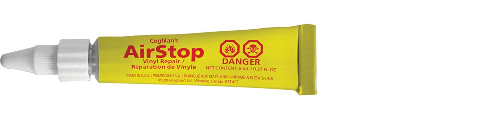 Amazon.com: Coghlan's Airstop Sealant, 0.27-Ounce/ 8 ml