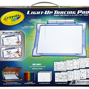 glow in the dark, glow, crayola coloring board, light up tracing pad