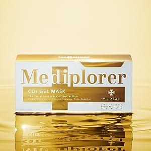 Mediplorer CO2 gel mask