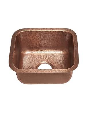 sisley bar and prep, copper sink