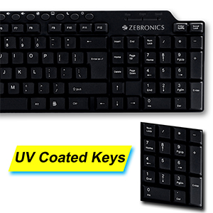 UV Coated Keys