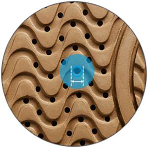 Micro fori Geox Suola Impermeabile e traspirante