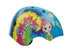 Titan Bicycles Flower Princess Girls Multi-Sport Helmet