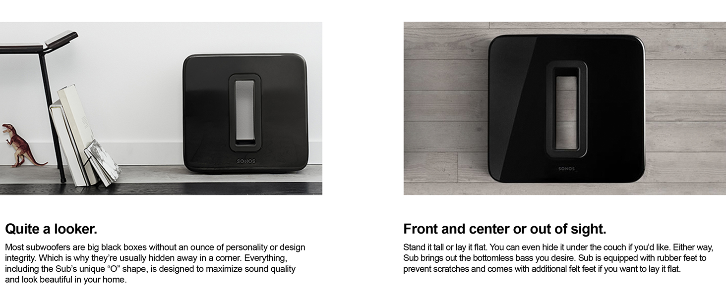 Sonos Sub Wireless Subwoofer That Adds Bass To Your Amplified Wiring Previous Page