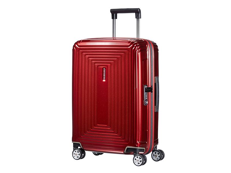 samsonite; neopulse; spinner 55; valise; valise 4 roues; valise s; bagage a main; valise a main