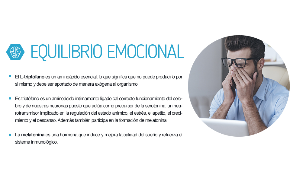 Ana Maria Lajusticia - Triptofano con melatonina + magnesio + VIT ...