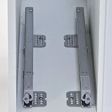 soft close pull out storage