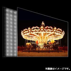 直下型バックライト テレビ