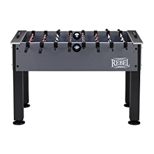 The Rebel Foosball Table With Snap On Rods