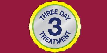3 day treatment