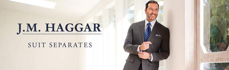 JMH, JM Haggar suits, jm haggar coat, jm haggar suit separates, haggar , jmh suits