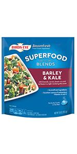 Birds Eye Steamfresh Protein Blends and Super Food Blends