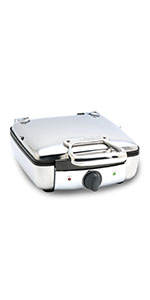 waffle maker, stainless waffle maker, all-clad waffle maker