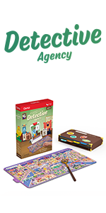 Detective Agency for iPad and Fire tablet