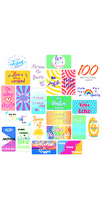 100 Motivational Quote Cards