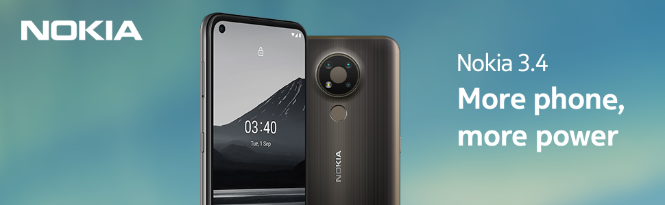 nokia 3.4 android smartphone