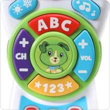 ABC's and 123's with 17 buttons