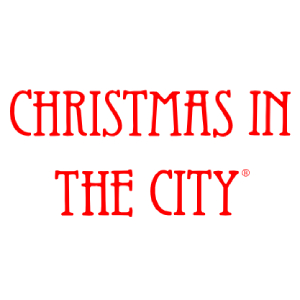 Christmas in the City Series Village Logo