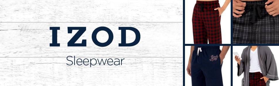 IZOD, sleepwear, men, pajamas