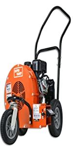 "heavy duty outdoor gas electric wood chipper shredder mulcher hopper garden lawn vacuum 3"" 1.57"""