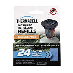 Amazon Com Thermacell M 24 Backpacker Mat Only Refill