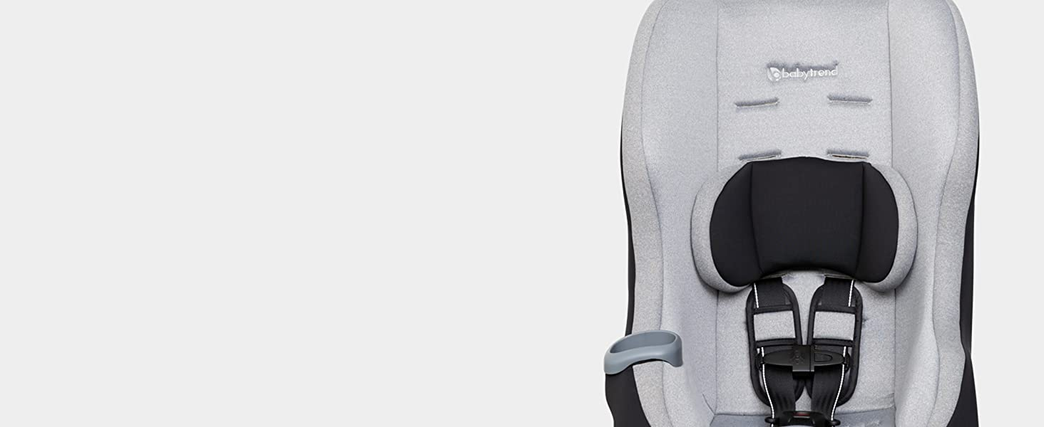 Deep Side Wings For Head Protection & 5-Point Safety Harness With Seat Pads