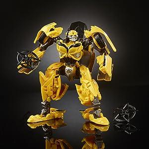 Transformers - Deluxe bumblebee, color amarillo (Hasbro