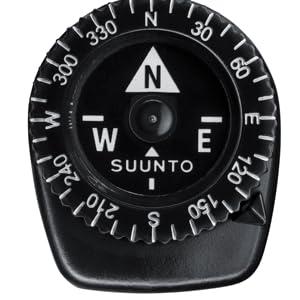 girevoli lunetta fissa Suunto Clipper Micro bussola 360 graduazione
