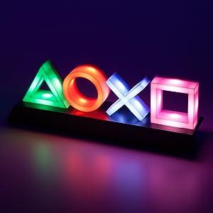 Playstation; PS4; Zubehör; Gadget; Lampe; Licht; Leuchte