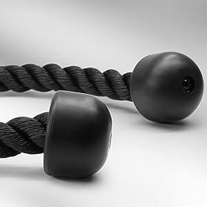 Cuerda para tríceps multigimnasio para empujar y tirar hacia abajo 27 inches