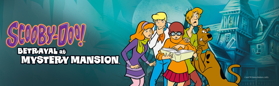 Amazon.com: Avalon Hill Scooby Doo in Betrayal at Mystery Mansion ...