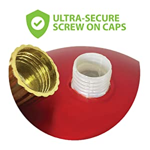 shatterproof plastic ornaments secure caps commercial grade quality indoor outdoor