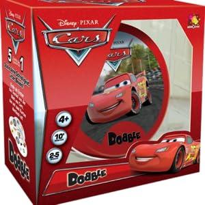 Asmodee- Dobble Cars (DOB04ES)