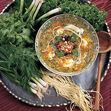 osh-e reshteh, Persian noodle soup, noodle soup