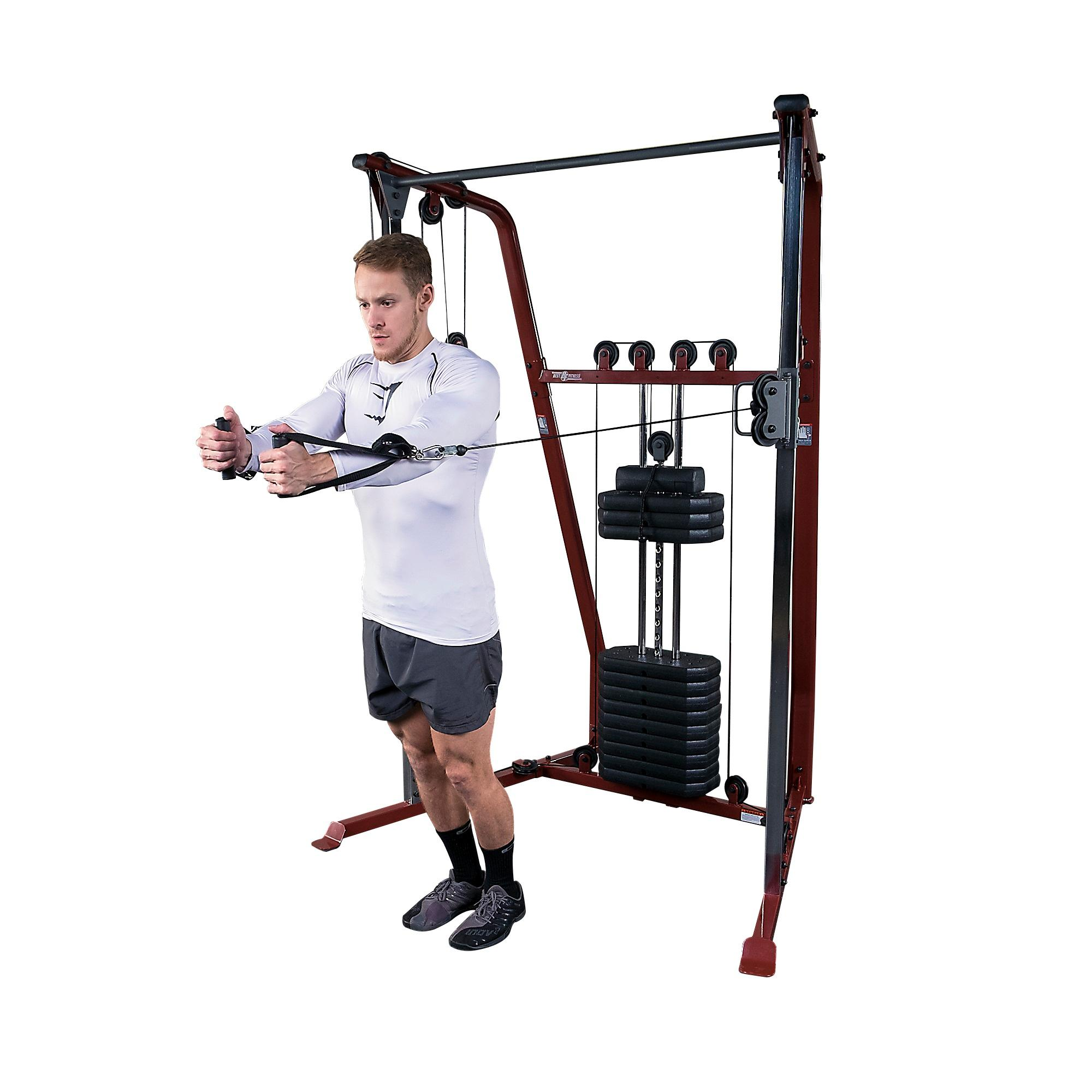 Discovering The Answers To Valuable Products Of Strength Training: Amazon.com : Best Fitness BFFT10 Functional Trainer : Home