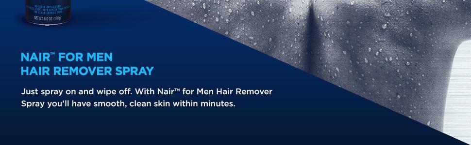 Nair for Men Hair Remover Spray