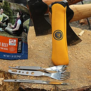 UST, Ultimate Survival Technologies, Camp Utensils, Utensils, Camping Kitchen, Backpacking, Outdoor