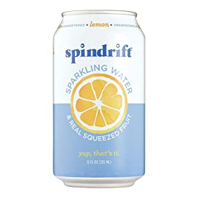 Spindrift Lemon Sparkling Water